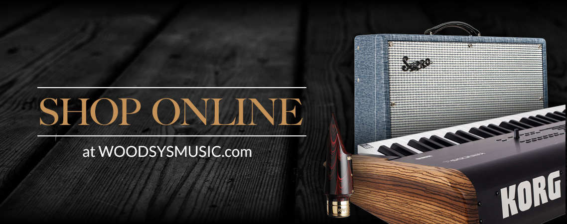 Woodsy's Music in Kent, Ohio Online Store
